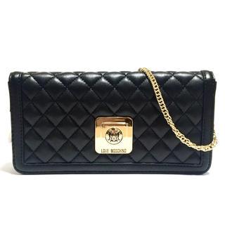 モスキーノ(MOSCHINO)の新品 Moschino チェーン付長財布(財布)