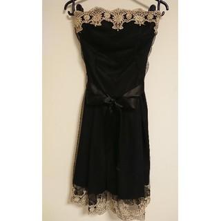 セシルマクビー(CECIL McBEE)のベアリボンミニドレス(ナイトドレス)