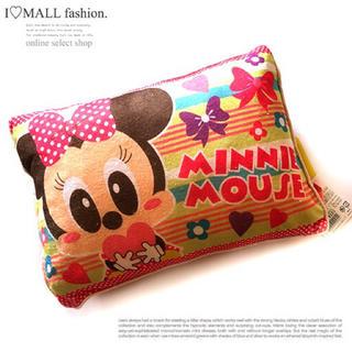 Disney - 【ミニーマウス】新品☆キャラクターキッズ枕☆タオル地子ども枕☆ディズニーグッズ