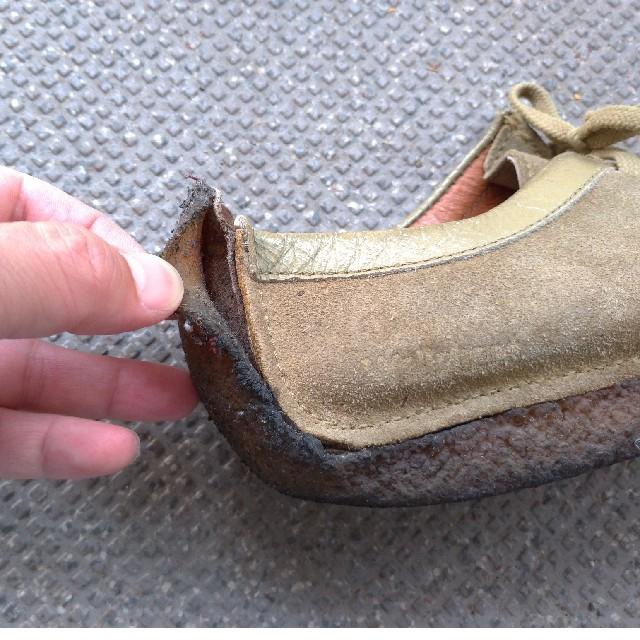 Clarks(クラークス)のクラークスClarksワラビー24cm レディースの靴/シューズ(ローファー/革靴)の商品写真