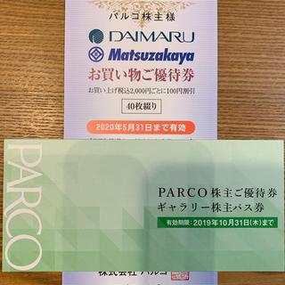 パルコ 株主優待券(ショッピング)
