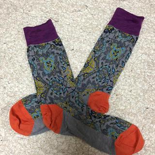 ヴィヴィアンウエストウッド(Vivienne Westwood)のヴィヴィアン 靴下 柄物(ソックス)