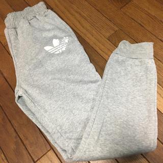 アディダス(adidas)のグレー スウェットパンツ★裏起毛(その他)