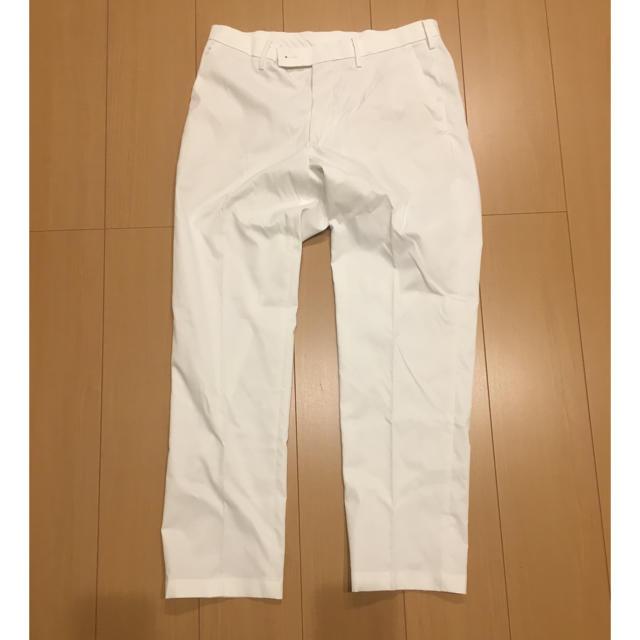 UNIQLO(ユニクロ)のパンツ ホワイト メンズ メンズのパンツ(スラックス)の商品写真