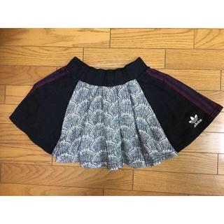 adidas - 中古アディダス和柄スカートS