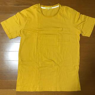 シマムラ(しまむら)のしまむら ポケット付きT 黄(Tシャツ/カットソー(半袖/袖なし))