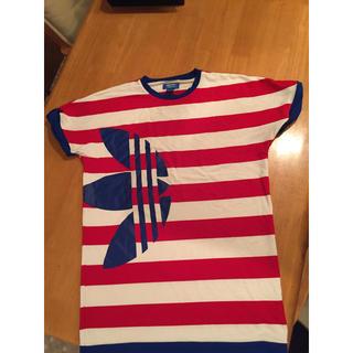 アディダス(adidas)のRODEOCROWNS ×adidas ボーダーTシャツ(Tシャツ/カットソー(半袖/袖なし))
