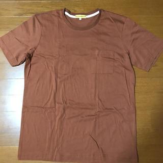 シマムラ(しまむら)のしまむら ポケット付きT 茶(Tシャツ/カットソー(半袖/袖なし))