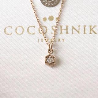 ココシュニック(COCOSHNIK)のココシュニック k10 ダイヤ ネックレス(ネックレス)