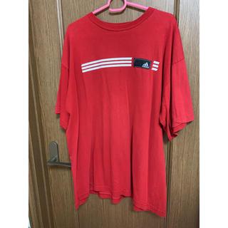 アディダス(adidas)のadidas アディダス Tシャツ 古着(Tシャツ/カットソー(半袖/袖なし))