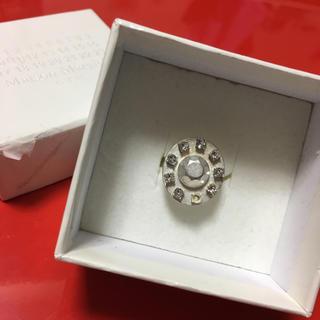 マルタンマルジェラ(Maison Martin Margiela)のマルジェラ リング 指輪 シルバー mm6 (リング(指輪))