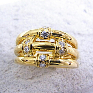 クリスチャンディオール(Christian Dior)のChristian Dior ダイヤモンドリング(リング(指輪))