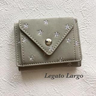 a0baf7c0112d レガートラルゴ ミニ財布. ¥3,500. レガートラルゴ(Legato Largo)の【美品】Legato Largo スター三つ折り