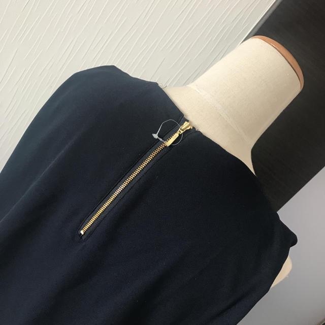 しまむら(シマムラ)のタグ付き★裾レーストップス レディースのトップス(カットソー(半袖/袖なし))の商品写真