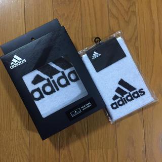 adidas - adidas アディダス フェイスタオル&ハンドタオル 2枚セット 新品