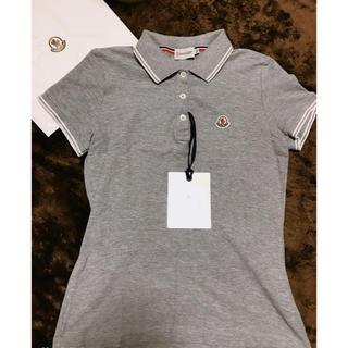 モンクレール(MONCLER)の【MONCLER】 ポロシャツ XSサイズ モンクレール 新品 即発送可能(ポロシャツ)