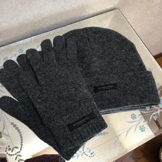 バーバリー(BURBERRY)のバーバリー 手袋 帽子 セット(帽子)