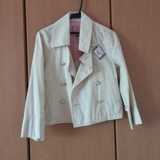 シマムラ(しまむら)のオフホワイトのマリンテイストジャケット(スプリングコート)