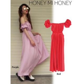 Honey mi Honey - マキシワンピ