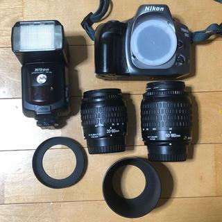ニコン(Nikon)のAPSフィルムカメラ Nikon プロネア600i ズームレンズ2本付(フィルムカメラ)