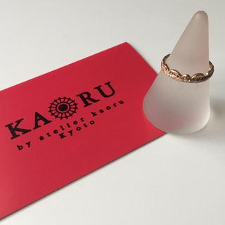 カオル(KAORU)のKAORU リング レース K10 PG ダイヤ(リング(指輪))