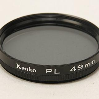 Kenko - 美品 Kenko ケンコー PL 偏光フィルター 49mm