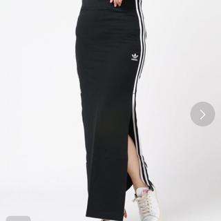 アディダス(adidas)の今だけ値下げ!アディダス ラインスカート(ロングスカート)