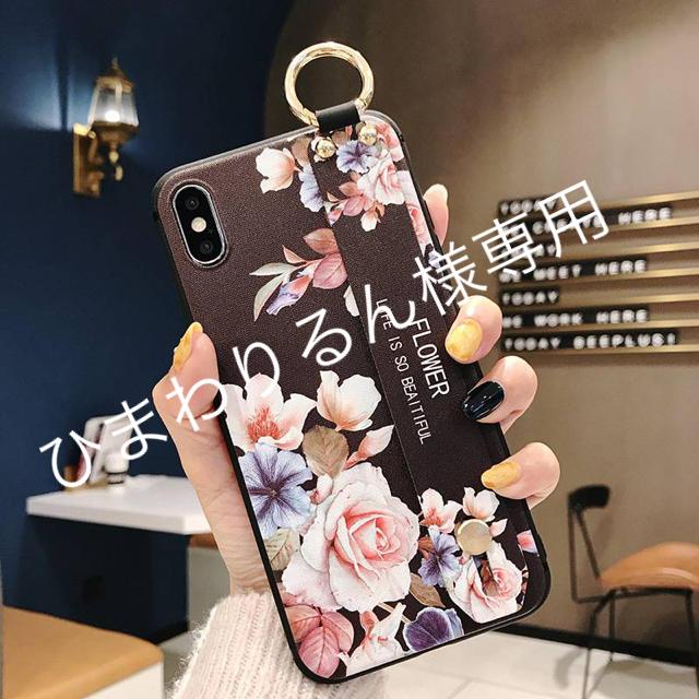 iphone 7 ケース おしゃれ  男 、 iPhone  XR ハンドベルト付き シリコンケースagpの通販 by モッティ's shop|ラクマ