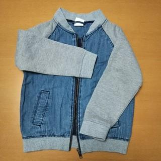 エイチアンドエム(H&M)の子供服デニムジャケット110cm(ジャケット/上着)