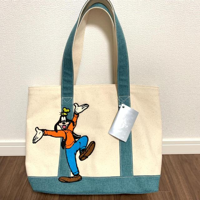 Disney(ディズニー)のグーフィー  トートバッグ エンタメ/ホビーのおもちゃ/ぬいぐるみ(キャラクターグッズ)の商品写真