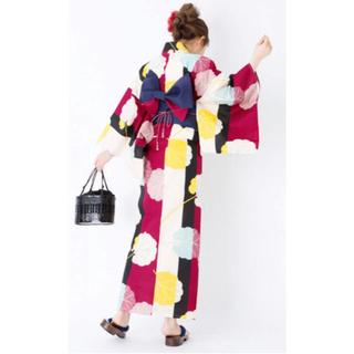 グレイル(GRL)の【値下げ!】4点セットふきの葉配色浴衣【送料無料!】(浴衣)