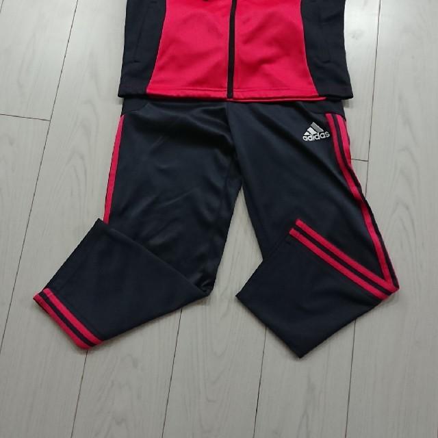 adidas(アディダス)のadidas☆ジャージ上下 キッズ/ベビー/マタニティのキッズ服女の子用(90cm~)(その他)の商品写真