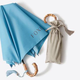 フォクシー(FOXEY)のFOXEY ノベルティ 折り畳み傘「ベージュ」(傘)