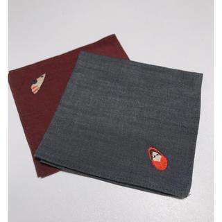 ムジルシリョウヒン(MUJI (無印良品))のMUJI ハンカチ 2枚(ハンカチ)