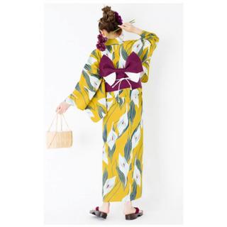 グレイル(GRL)の【値下げ】4点setカラー浴衣(浴衣)