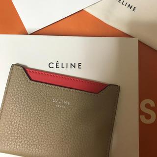 セリーヌ(celine)の【新品・未使用】CELINE バイカラーカードケース(名刺入れ/定期入れ)