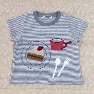 ファミリア(familiar)のfamiliar    Tシャツ    size  100cm(Tシャツ/カットソー)