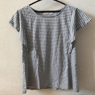 シマムラ(しまむら)のボーダートップス(Tシャツ(半袖/袖なし))