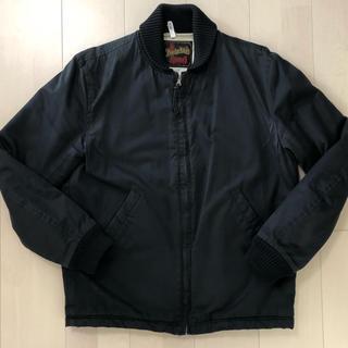 テンダーロイン(TENDERLOIN)のテンダーロイン  リブワーク ジャケット 黒 Mサイズ(ブルゾン)