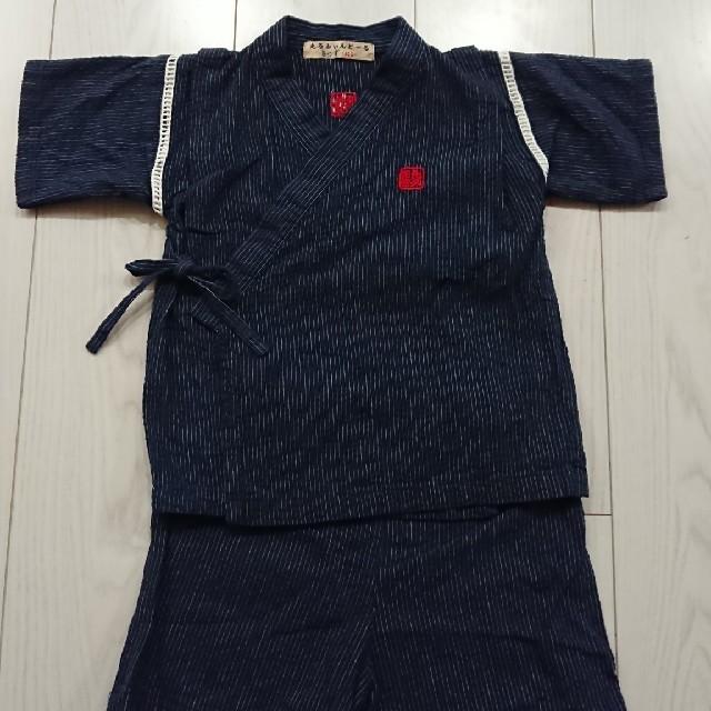 ☆甚平☆ キッズ/ベビー/マタニティのキッズ服男の子用(90cm~)(甚平/浴衣)の商品写真