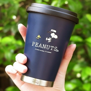 thermo mug - PEANUTS Cafe thermo mug  スヌーピー SNOOPY