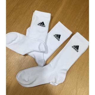アディダス(adidas)のアディダス ソックス3足組(ソックス)