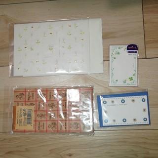 ①紙袋6枚入り◆ミニメッセージカード◆デザイン封筒(カード/レター/ラッピング)