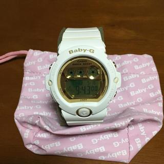 Baby-G - baby-g ホワイト ゴールド 腕時計