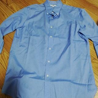 ユニクロ(UNIQLO)のユニクロ シャツ 青 ドット(シャツ)