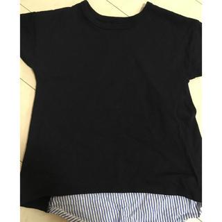 CIAOPANIC TYPY - 異素材を組み合わせたティーシャツ