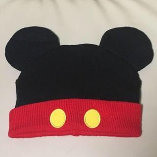 Disney - ディズニーランド ミッキー ニット帽