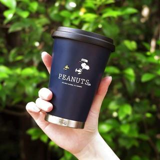 thermo mug - PEANUTS Cafe thermo mug  スヌーピー SNOOPY