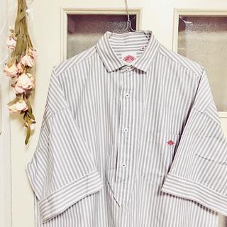 ダントン(DANTON)のDanton *ビックシャツ(シャツ/ブラウス(半袖/袖なし))