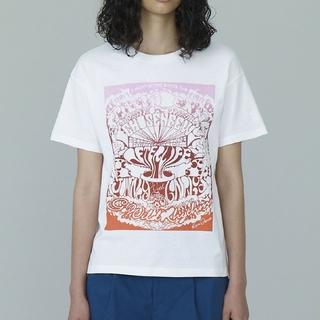 ジーユー(GU)の早い者勝ち≪正規≫ GU KIM JONES グラフィックT ホワイト XL(Tシャツ/カットソー(半袖/袖なし))